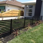 privacy screens 60mm fence black