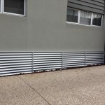 privacy screens Louver vent 80 mm